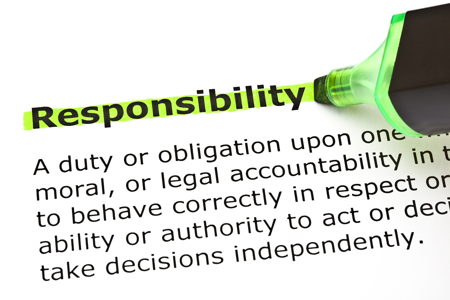 bigstock-Responsibility-Highlighted-In--36945070